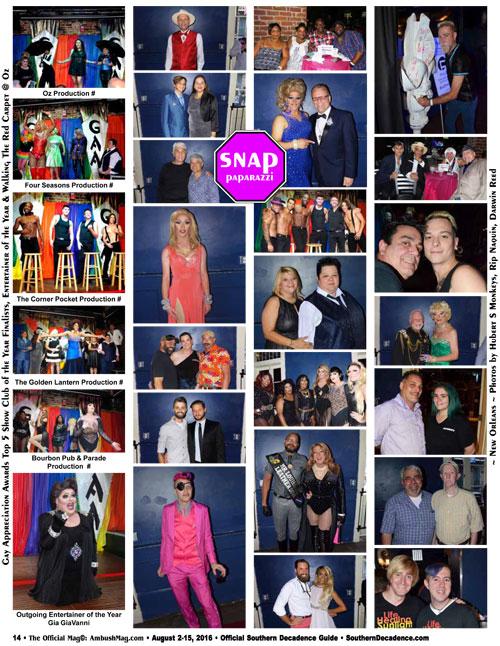 29th Gay Appreciation Awards